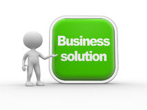 Business solution Royalty Free Stock Photography