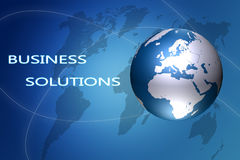 Business Solutions Royalty Free Stock Photography