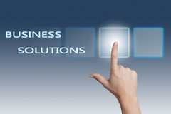 Business Solutions Royalty Free Stock Photos