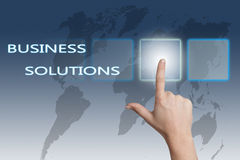 Business Solutions stock illustration