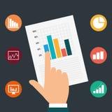Business solutions design. Stock Photos