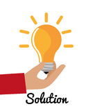 Business solutions Stock Image