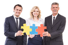 Business solutions Stock Images