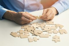 Business solutions success and strategy concept Stock Photography