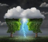 Business Spark Idea Stock Photo