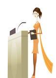 Business Speaker Stock Image