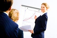 Business speech Stock Images