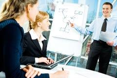 Business speech Stock Image