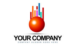 Business Sphere Logo Royalty Free Stock Photography