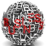 Business sphere Stock Images