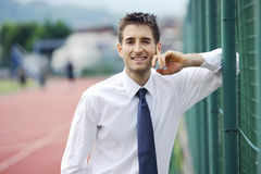 Business and sport Royalty Free Stock Photography