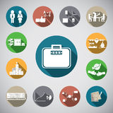 Business spot icon Stock Image