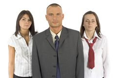 Business staff royalty free stock image