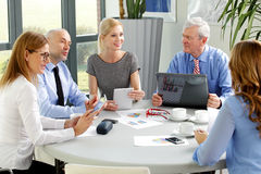 Business staff at work Stock Photography