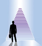 Business staircase Royalty Free Stock Photos