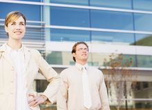 Business stance Stock Photography