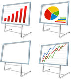 Business stand Royalty Free Stock Images