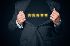 Business star Stock Image