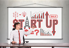 Business start up concept Royalty Free Stock Photo