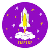 Business start up launch concept Stock Images