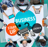 Business Start up Launch Opportunity Corporate Concept Royalty Free Stock Photo