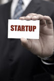 Business start up Stock Image