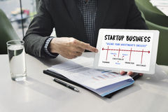 Business Start Up Process Meeting Icon Royalty Free Stock Photos