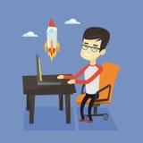 Business start up vector illustration. Stock Photos