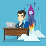 Business start up vector illustration. Stock Image