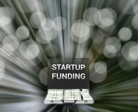 Business Startup Funding Capital Illustration Stock Image