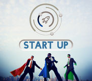 Business Startup Launch Strategy Vision Concept. Business Startup Launch Strategy Vision royalty free stock photography