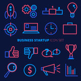 Business startup vector icon set. Banking and finance symbols in Stock Image