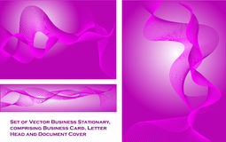 Business Stationary Template Stock Photo