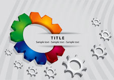 Business stationery template Royalty Free Stock Image