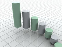 Business statistics Royalty Free Stock Photo