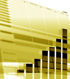 Business statistics Stock Images
