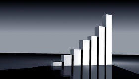 Business statistics Royalty Free Stock Photography
