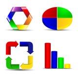 Business statistics Stock Photography