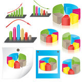 Business statistics. vector illustration Stock Photo