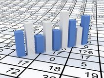 Business statistics Stock Photo