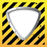 Business steel plate background. Fantastic illustration Royalty Free Stock Images