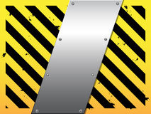 Business steel plate background Stock Photo