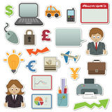 Business stickers Stock Image