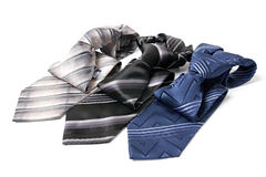Business still life. Different ties for men Stock Photography