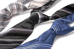 Business still life. Different ties for men Royalty Free Stock Image
