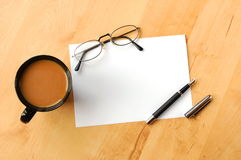 Business still life with copyspace Stock Photo