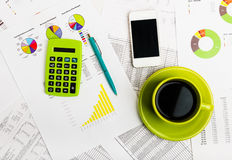 Business still-life Royalty Free Stock Images