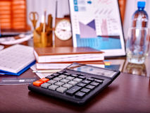 Business still life on table in office. Royalty Free Stock Photos