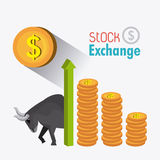 Business stock exchange Stock Image