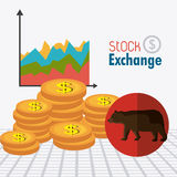 Business stock exchange Stock Photography